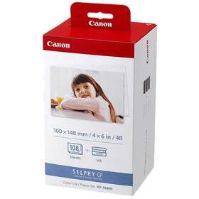 Fotopapier Canon KP-108,10x15 cm, 108 listů pro Selphy (3115B001)
