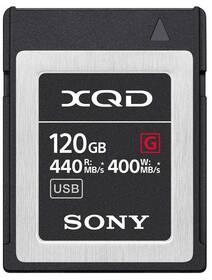 Pamäťová karta Sony XQD G 120 GB (440R/400W) (QDG120F)