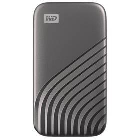SSD externý Western Digital My Passport SSD 1TB (WDBAGF0010BGY-WESN) sivý