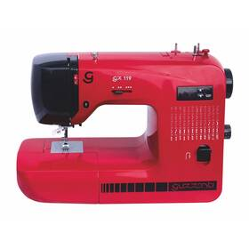 Šijací stroj Guzzanti GZ 119 červený