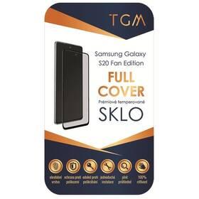 Tvrdené sklo TGM Full Cover na Samsung Galaxy S20 FE (TGMFCSGS20FAN) čierne