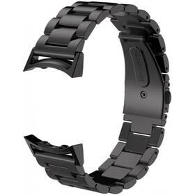 Remienok WG na Samsung Fit2 (R360), kovový pletený (9116) čierny
