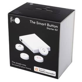 Tlacitko Flic 2 Starter Kit – 4x chytré Bluetooth tlačítko, Hub LR, síťový adaptér, nálepky (FL-KW-10P-40S)