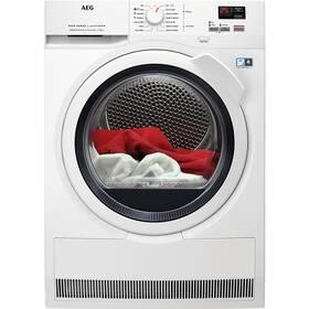Sušička bielizne AEG AbsoluteCare® T8DBK68WC biela farba