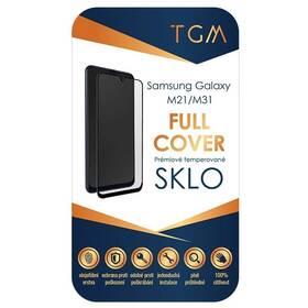 Tvrdené sklo TGM Full Cover na Samsung Galaxy M21 / M31 (TGMSAMGALM21) čierne