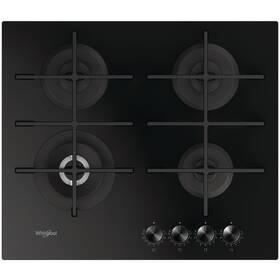 Plynová varná platňa Whirlpool W Collection GOWL 628/NB EE čierna