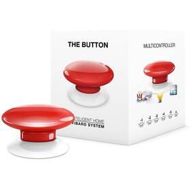 Tlacitko Fibaro Button, Z-Wave Plus (FIB-FGPB-103-ZW5) červené