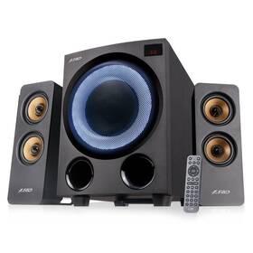 Reproduktory Fenda F&D F770X, 2.1, 76W, RGB, BT5.0, FM rádio, USB, optický vstup, dálkové ovládání (F770X)