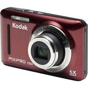 Digitálny fotoaparát Kodak Friendly Zoom FZ53 (819900012446) červený