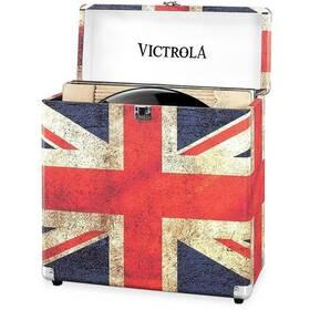 Kufrík Victrola na vinylové desky (VSC-20-UK-EU) červený