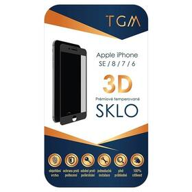 Tvrdené sklo TGM 3D na Apple iPhone 6/7/8/SE (2020) (TGM3DAPIP7/8BL) čierne