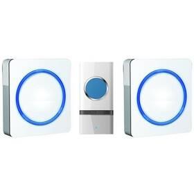 Zvonček bezdrôtový Solight 1L23, do zásuvky, 120m (1L23) biely