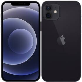 Mobilný telefón Apple iPhone 12 64 GB - Black (MGJ53CN/A)