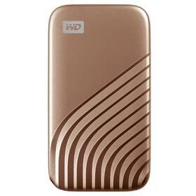 SSD externý Western Digital My Passport SSD 1TB (WDBAGF0010BGD-WESN) zlatý