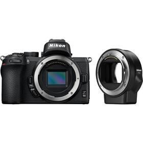Digitálny fotoaparát Nikon Z50 + adaptér bajonetu FTZ (VOA050K003) čierny