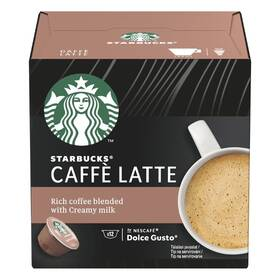 Kapsule pre espressa Starbucks Caffe Latte 12Caps