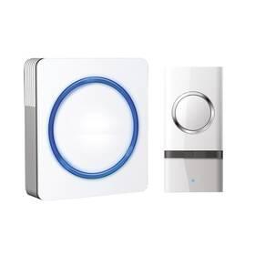 Zvonček bezdrôtový Solight 1L20, do zásuvky, 120m (1L20) biely