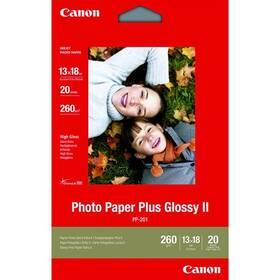 Fotopapier Canon PP201, 13x18 cm, 20 listů (2311B018) biely