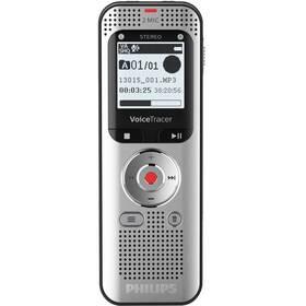 Diktafón Philips DVT2050 strieborný