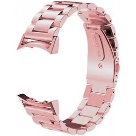 Remienok WG na Samsung Gear S2 (R720), kovový pletený (9113) ružový