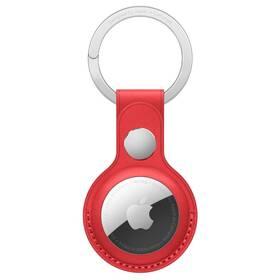 Apple AirTag kožená kľúčenka - (PRODUCT)RED