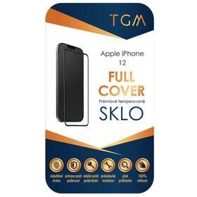 Tvrdené sklo TGM Full Cover na Apple iPhone 12 Mini (TGMFCAPIP1254) čierne