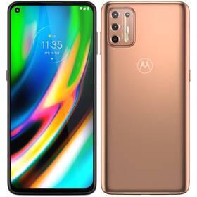 Mobilný telefón Motorola Moto G9 Plus 6/128GB (PAKM0030RO) zlatý