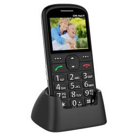Mobilný telefón CPA Halo 11 Senior (TELMY1011BK) čierny