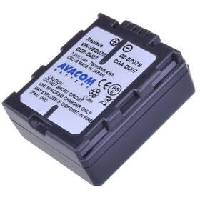 Batéria Avacom Panasonic CGA-DU07/CGR-DU07/ VW-VBD07, Hitachi DZ-BP07S Li-Ion 7.2V 750mAh 5.4Wh (VIPA-DU07-532)
