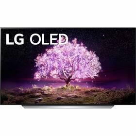Televízor LG OLED77C12 strieborná/biela