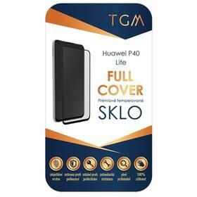 Tvrdené sklo TGM Full Cover na Huawei P40 lite (TGMHUAP40L) čierne