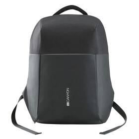 "Batoh na notebook Canyon Anti-theft pro 15.6"", integrované USB (CNS-CBP5BB9) čierny"