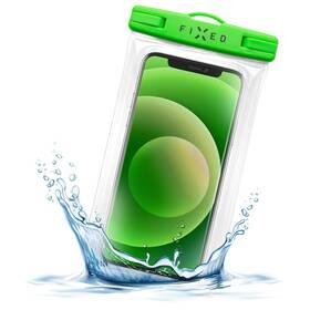 Puzdro na mobil športové FIXED Float Edge, IPX8 (FIXFLT-EG-LM) zelené