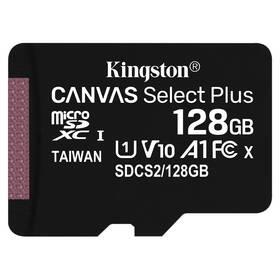 Pamäťová karta Kingston Canvas Select Plus MicroSDXC 128GB UHS-I U1 (100R/10W) (SDCS2/128GBSP)