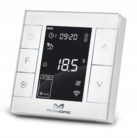 Termostat MCO Home MH7 V2 pro elektrické topení, Z-Wave Plus (MCO-MH7H-EH) biely