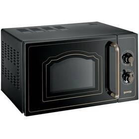 Mikrovlnná rúra Gorenje Retro MO 4250 CLB čierna