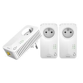 Sieťový rozvod LAN po 230V Strong 500 TRI FR (PL500TRIFR) biely