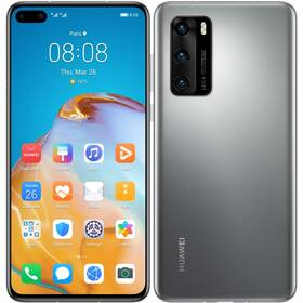 Mobilný telefón Huawei P40 (HMS) 5G (SP-P40128DSTOM) sivý