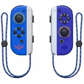 Gamepad Nintendo SWITCH Joy-Con Pair Hylian Shield and Master Sword (NSP072) modrý/fialový
