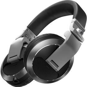 Slúchadlá Pioneer DJ HDJ-X7-S (HDJ-X7-S) strieborná