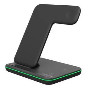 Bezdrôtová nabíjačka Canyon 3v1 pro telefon, Apple Watch, Airpods (CNS-WCS303B) čierna