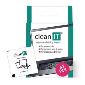 Čistiace obrúsky Clean IT vlhčené, 52 ks (CL-150)