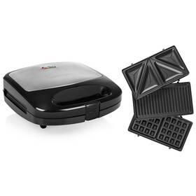 Sendvičovač Tristar SA-3070 čierny/nerez