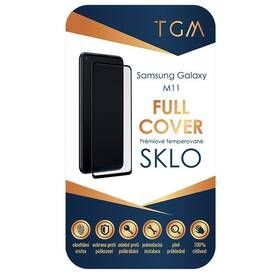 Tvrdené sklo TGM Full Cover na Samsung Galaxy M11 (TGMFCSGM11) čierne