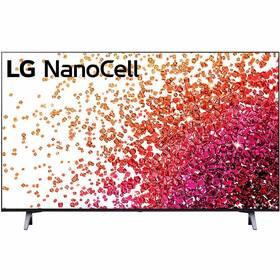 Televízor LG 43NANO75P sivá