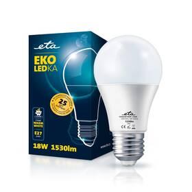 LED žiarovka ETA EKO LEDka klasik 18W, E27, teplá biela (A65W18WW)