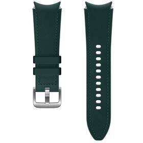 Remienok Samsung Galaxy Watch4 Classic 42mm, hybridní kožený (20 mm, S/M) (ET-SHR88SGEGEU) zelený