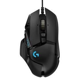 Myš Logitech Gaming G502 Hero High Performance (910-005470) čierna