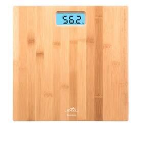 Osobná váha ETA Bamboo 9780 90000 hnedá
