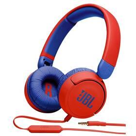 Slúchadlá JBL JR 310 červená/modrá
